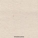 16 ounce heavy thick cotton fabric canvas