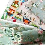 Digital Printed Cotton canvas Fabric