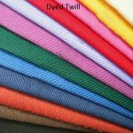 Dyed Cotton Twill Fabric