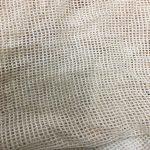 Organic certified cotton mesh fabric